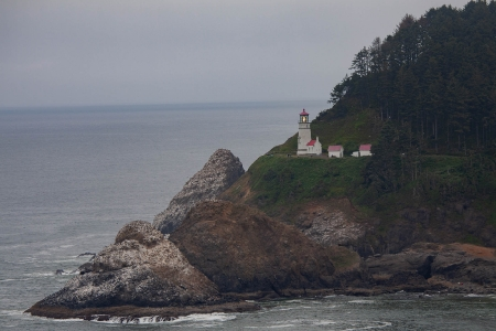 Heceta Head Light vuurtoren, vlakbij Florence