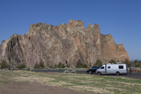 Mooie rots formaties in Smith Rock state park