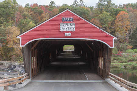 Haverhill Bath Covered Bridge