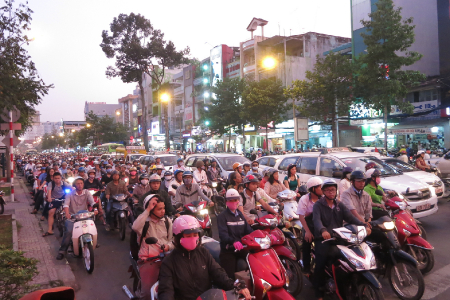 Ho Chi Minh is brommer capitol of the world
